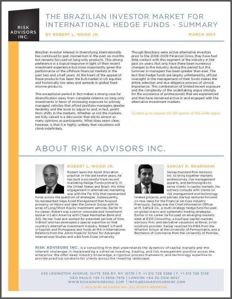 Brazil Investor Market Intl HF Summary